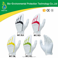 High Quality White Color Men Style PU Golf Glove