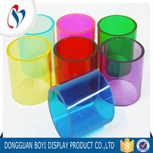 China Supplier Clear Plastic Tube Custom Solid Colored Cast Acrylic Rod