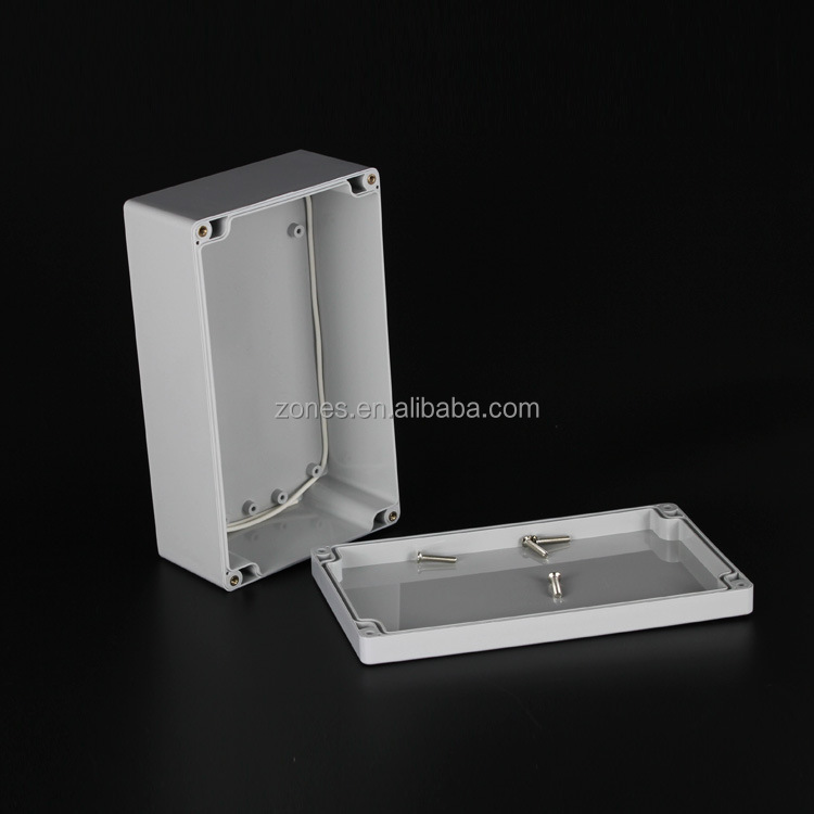 ip65 dustproof waterproof abs plastic electrical terminal boxes plastic casing manufacturer