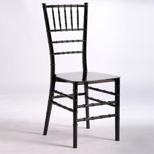 stacked plastic chairs wholesale acrylic and PP Tiffany chair for wedding