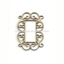 Hot sell Decorative Striped Frame Laser Cut Unfinished Wood Shapes Variety of Sizes Craft Supply made in China