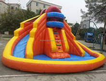 2015 hot inflatable slide for pool,inflatable water slide,children inflatable pool with slide