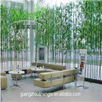 SJLJ01351 artificial bamboo plant and tree / plastic garden fence for home garden decoration