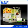 2015 hot sale reusable exhibition booth contractor