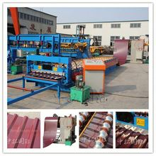 Passed CE and ISO Automatic Control Color Corrugated Plastic Roofing Sheet Roll Forming Machine