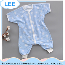 Wholesale Bamboo Material Clothes Plain Baby Romper