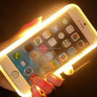 wholesale factory price Selfie Light phone case Cover Selfie Mobile Phone case for Iphone