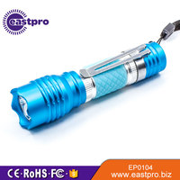 EASTPRO EP0104 0.5W LED 1 x AA battery pocket clip led mini flashlight