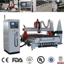 high accuracy small 4 axis wood cnc router, timber wood cnc engraving machine, auto tool change wood cnc router