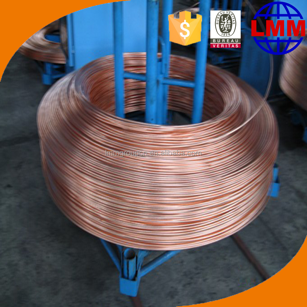 Copper rod up-ward casting