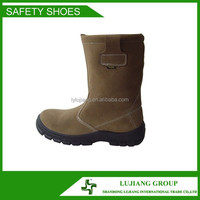 LJ-SJZ145 work boot and work shoes full grain leather boots anti slip safety boots