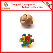 New Design Wooden Puzzle Boxes Chinese Educational Magic Toys Wooden Gift Box