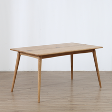 Solid wood dining table simple Nordic style modern table small house hold <strong>furniture</strong>