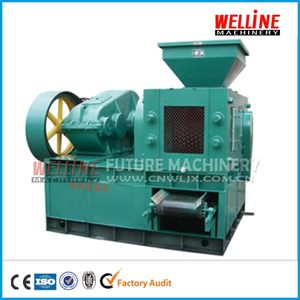 Factory direct sell gypsum carbon black coke coal charcoal powder briquette press machine