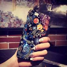 C&T Sublimation Hard Durable Crystal Night Stars PC Cell Phone Case For Iphone6