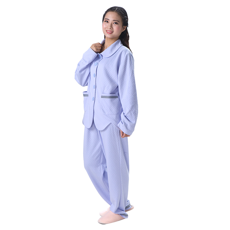 Wholesale adult fleece cotton babydoll pajamas