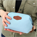 Multi-function fashion cotton bag cosmetic package steel frame cosmetic bag canvas bag