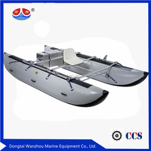 new River Inflatable Cataraft Pontoon Boat fishing boat