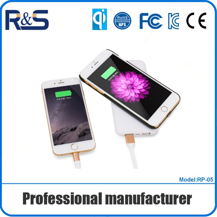 New products qi wireless power bank charger support mobile phone / pad use for charger quickly In stock!