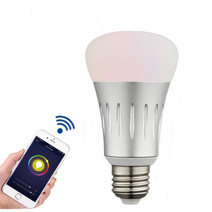 Wifi Smart Light Bulb,6W 600Lumens Smart LED Light Bulb Timer Dimming Work With Amazon Alexa Google Home