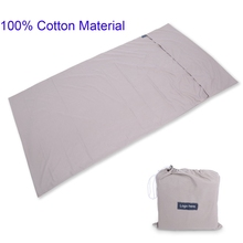 Mega March Sourcing Portable Travel Camping Sleeping Bag Liner Cotton 100% Pure
