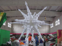 2014 color party/ wedding decoration inflatable star/sea wave T-34
