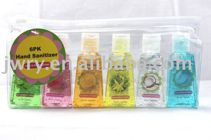 $1.25 6PK HAND SANITIZER GIFT SET -2010!!NEW!!