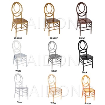 Attractive price foshan local cheap phoenix chair for wedding