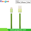 High-end MFI Certified 8-pin Sync and Charging Cable with AL Shell and PU Leather for Apple