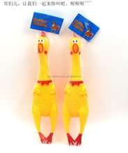 Promotion Shrilling Scream Rubber Chicken,Special Shrilling Chicken,rubber chickens for sale