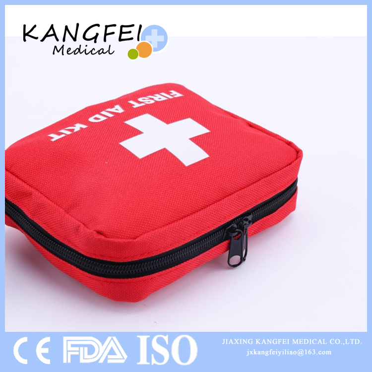 Top SellingKF50 Small Size Cute Pocket First Aid Kit bagAid Kit Bag