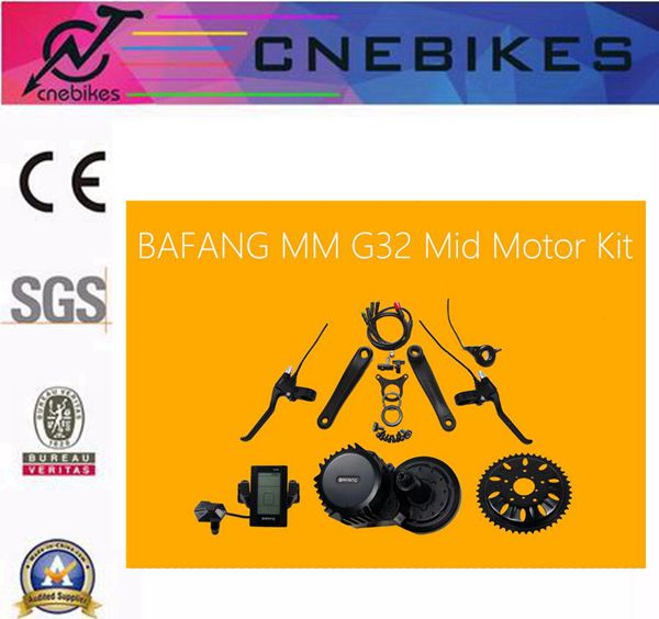 Hot sale! BBS02 8fun /bafang 48v 750w mid crank drive motor ebike kit+48v 12ah battery