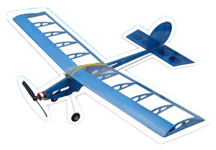 Balsa Wood RC Aircraft <strong>Model</strong> YOYO Balsa KIT 0.6M Wingspan Electric Remote Control Airplane Only KIT Without Covering