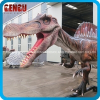 lifesize dinosaur for inflatable park