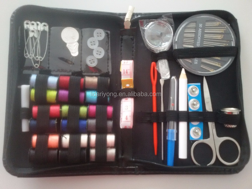 sewing kit ,38 spools of thread