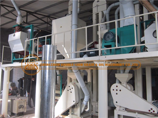 6FTS-15T wheat flour milling machine full set of equipment for grains