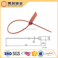 Plastic high security seal for shipping