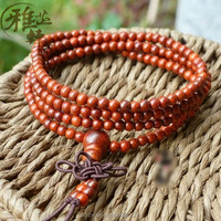 New Chinese Unique Products Fashion And Charm Red Sandalwood Bead Bracelet For Men And Women