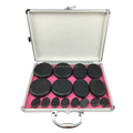 New fashion design Personal hot Massage Stone for personal Spa beauty 16pcs per set with heating box