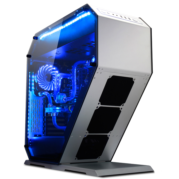 2017 Deluxe Desktop Aluminum Full Tower ATX Gaming Computer Case