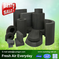 High quality color foam pipe insulation