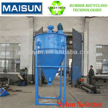 air separation equipment for waste tyre/used tires recycling production line