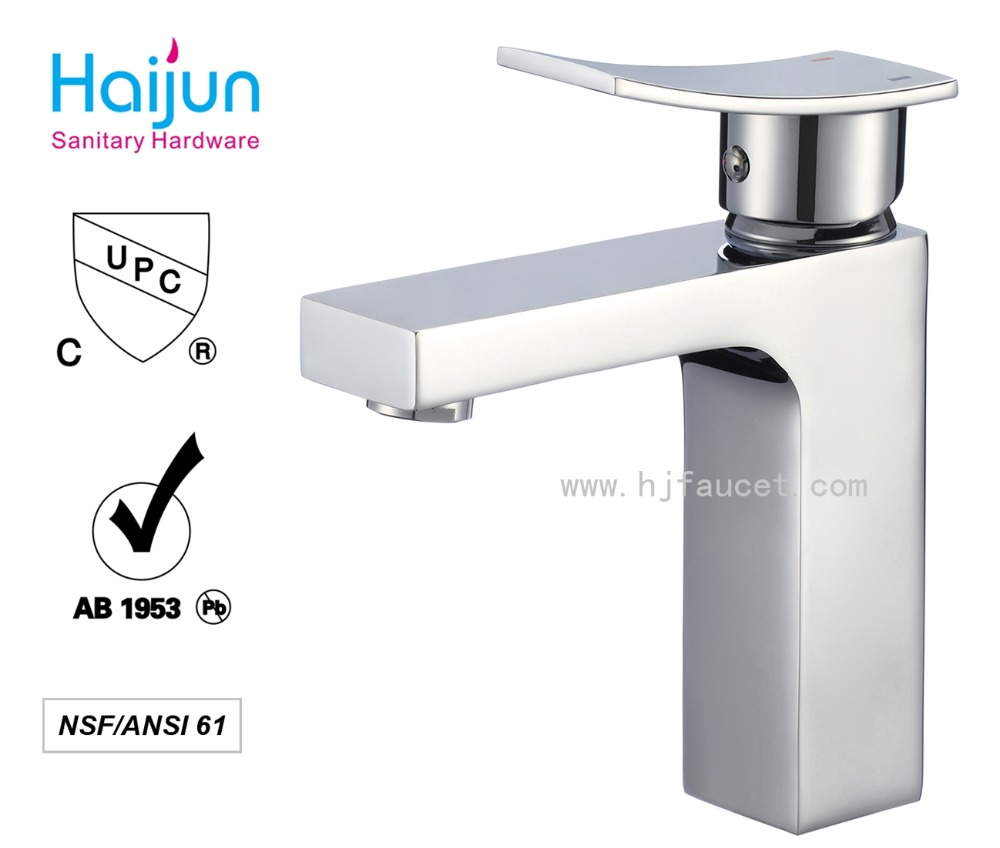 China Top Quality UPC Faucet Bathroom Single Handle Water Mixer