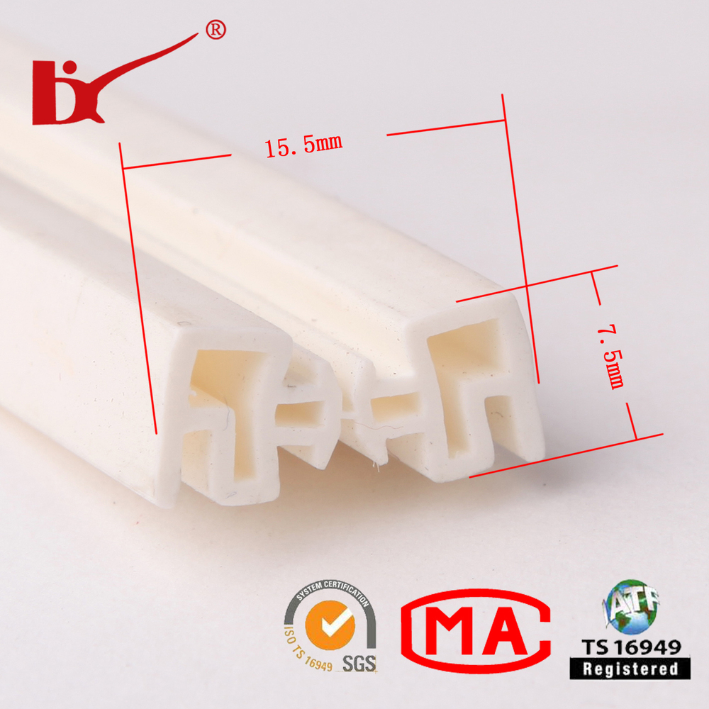 silicone white and translucent rubber door seal strip  sc 1 st  Wholesale Alibaba & Silicone White And Translucent Rubber Door Seal Strip - Buy Rubber ... pezcame.com