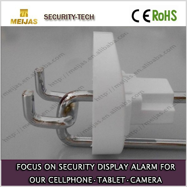 security anti-theft slatwall display hook