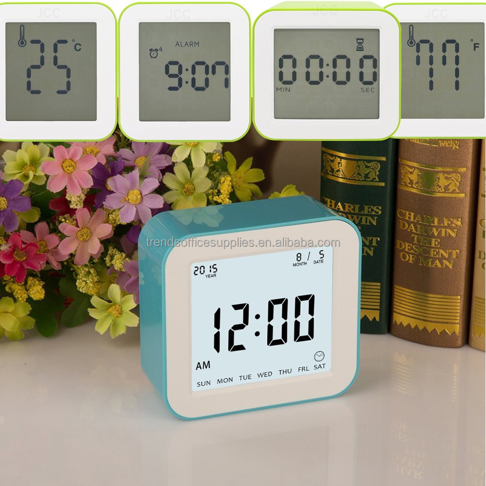 Digital calander with day,electronic table calendar/calendrier