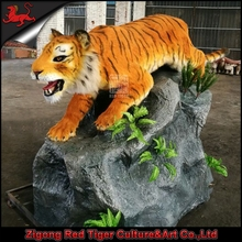life size realistic animatronic simulation tiger for sale
