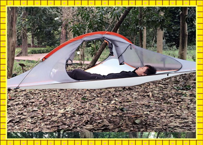 high quality new 2.5kg backpacking bell tree tent