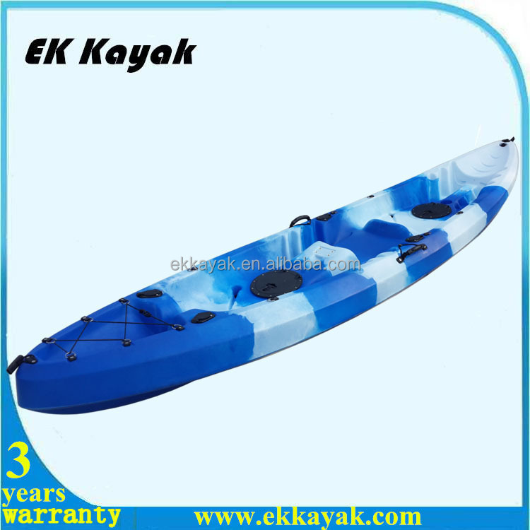 Factory direct supply 2 person cheap plastic kayak hot sales in 2016