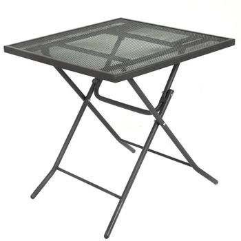 Cheap Metal Square Folding Dining Table